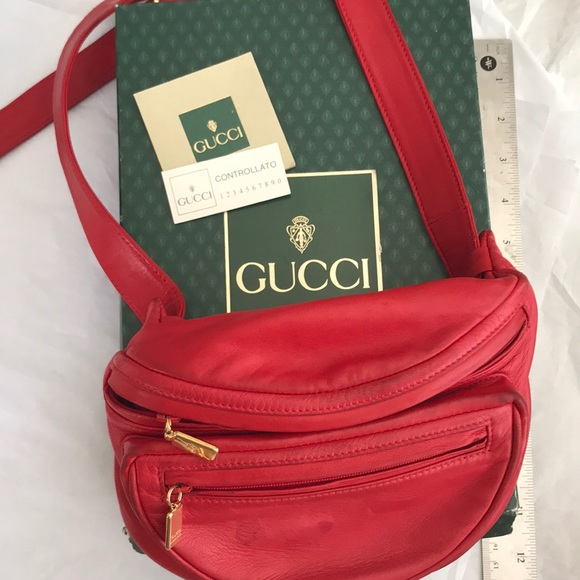 cf624a3e4837dc Gucci Bags | Red Fanny Pack | Poshmark